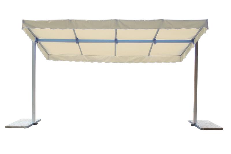 mobile markise x m uni natur gartenm bel fritz. Black Bedroom Furniture Sets. Home Design Ideas