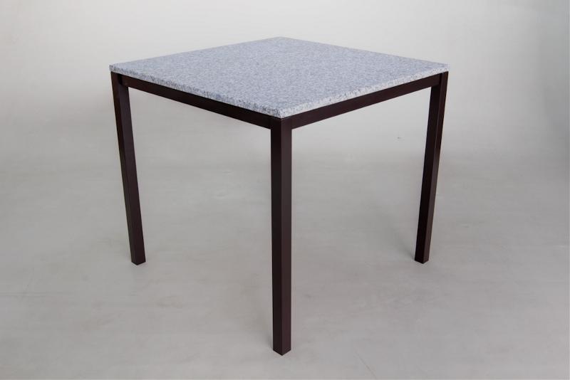 granittisch elba braun 80x80 cm gartenm bel fritz m ller gmbh. Black Bedroom Furniture Sets. Home Design Ideas