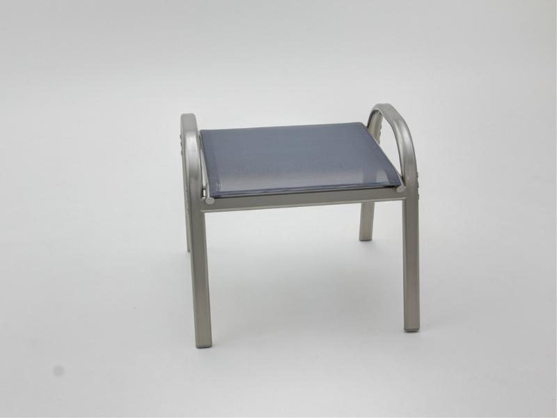aluminium hocker grau gartenm bel fritz m ller gmbh. Black Bedroom Furniture Sets. Home Design Ideas