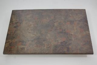Tischplatte Werzalit 120x80 Cm Rostbraun Gartenmobel Fritz Muller G