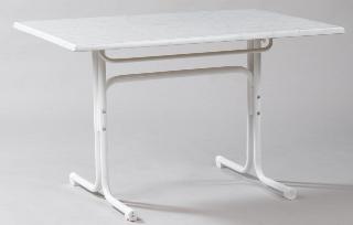 Gartentisch 120 X 80 Cm Weiss Bianco Gartenmobel Fritz Mulle